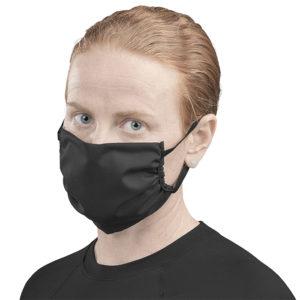buy Eva & Elm Adult Polycotton Face Mask - Black