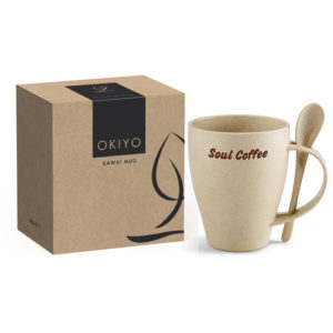 buy Okiyo Kawai Wheat Straw Mug Set