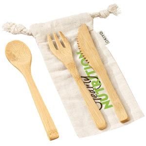 buy Okiyo Nakama Bamboo Cutlery Set