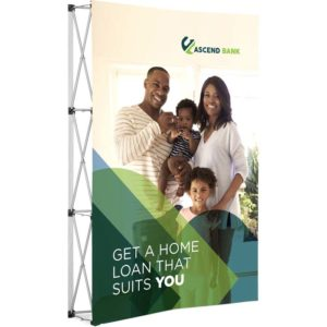 buy Legend Curved Banner Wall - 1.45m x 2.25m
