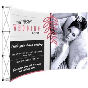 buy Legend Curved Banner Wall - 3.5m x 2.25m
