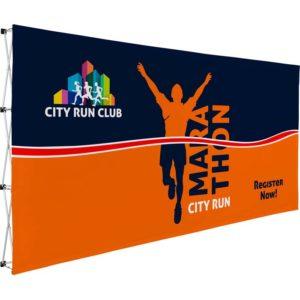 buy Legend Straight Banner Wall - 4.45m x 2.25m
