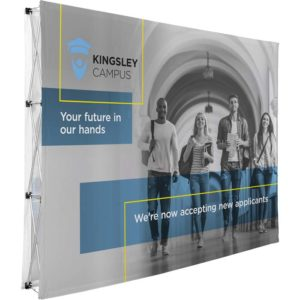 buy Legend Double-Sided Straight Banner Wall - 3m x 2.25m