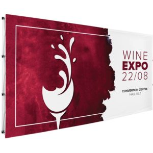 buy Legend Double-Sided Straight Banner Wall - 4.45m x 2.25m