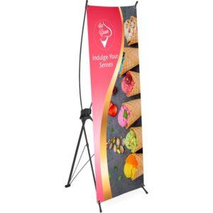 buy Champion Layflat PVC X-Banner - 60cm x 160cm