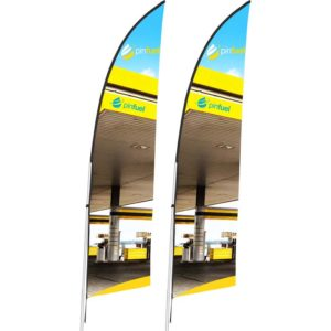buy Legend 2m Arcfin Single-Sided Flying Banner (Set of 2)