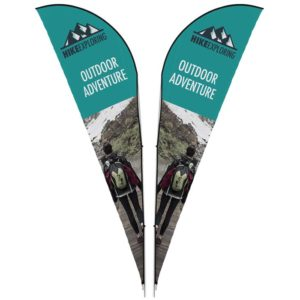 buy Legend 4m Sharkfin Double-Sided Flying Banner