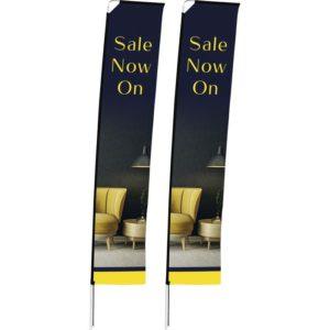 buy Legend 4m Telescopic Single-Sided Flying Banner (Set Of 2)