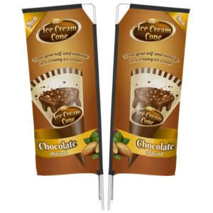 buy Legend Telescopic Double-Sided Flying Banner
