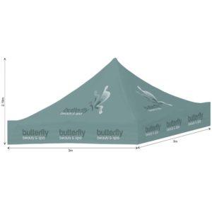 buy Ovation Gazebo 3m x 3m Roof