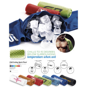 Buy Chill Cooling Sports Towel