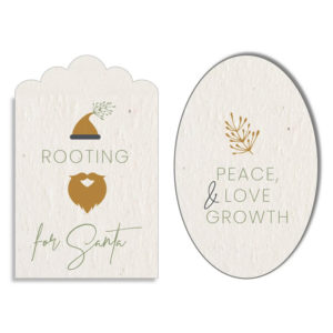 buy Growing Paper Crinkle Cut or Oval Tags