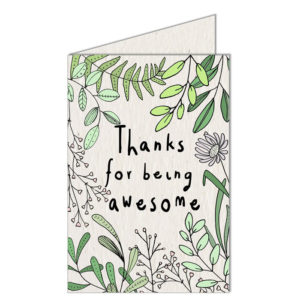 buy Growing Paper Greeting Cards - Open Flat
